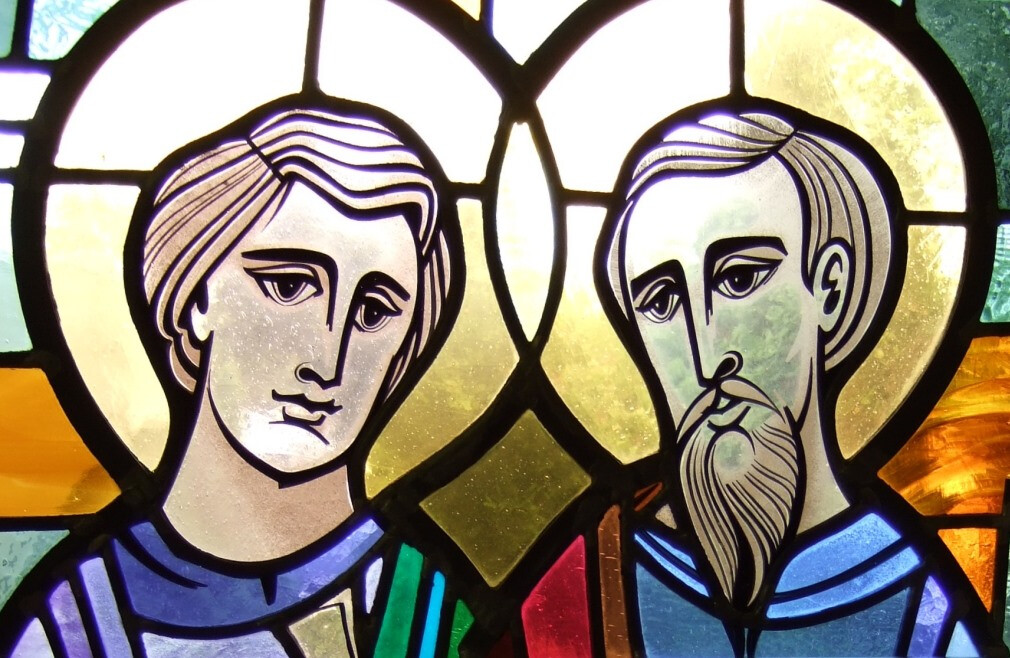 Tour our Stained Glass Saints