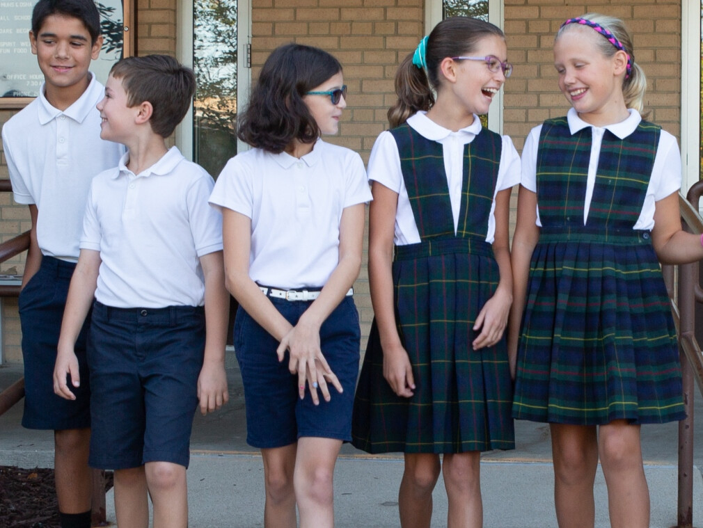 School Uniforms Find New Homes