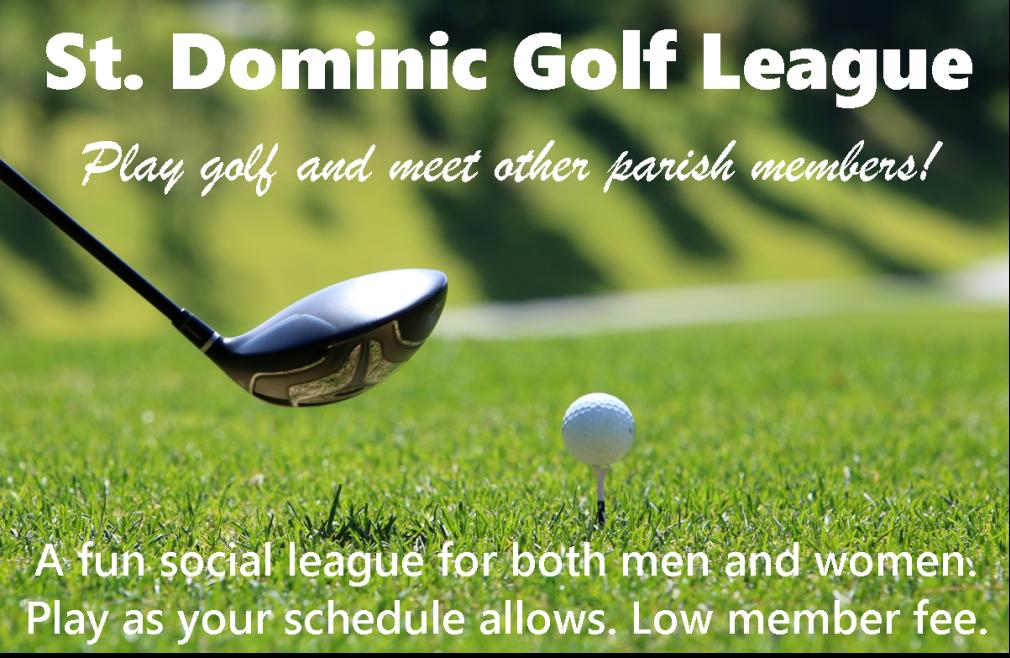 St. Dominic Golf League