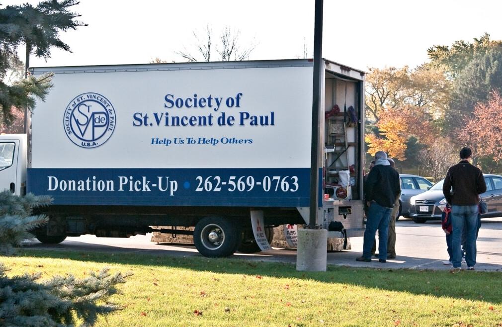 SVdP Truck & Coat Drive