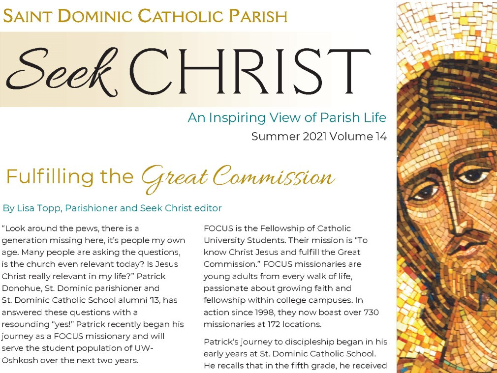 Seek Christ 2021 Summer Edition